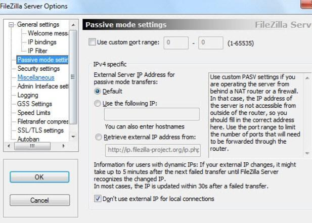 Создание и настройка ftp-сервера