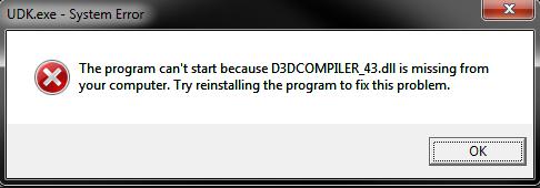 Как исправить ошибку d3dcompiler_43.dll