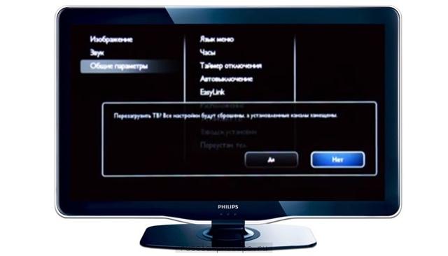 Как настроить телевизор Филипс
