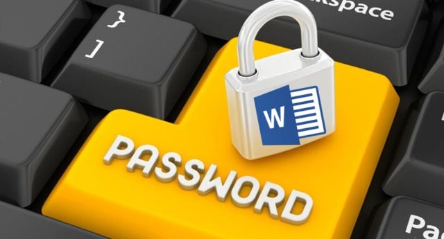 Как поставить пароль на файл word